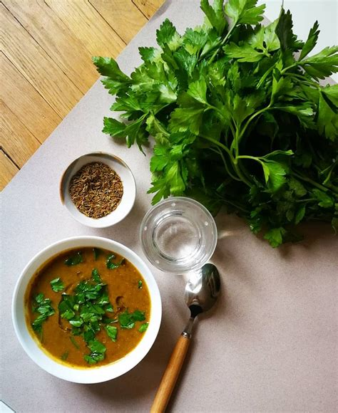 cuisine lentilles vertes soupe de lentilles vertes carottes et cumin blogs de
