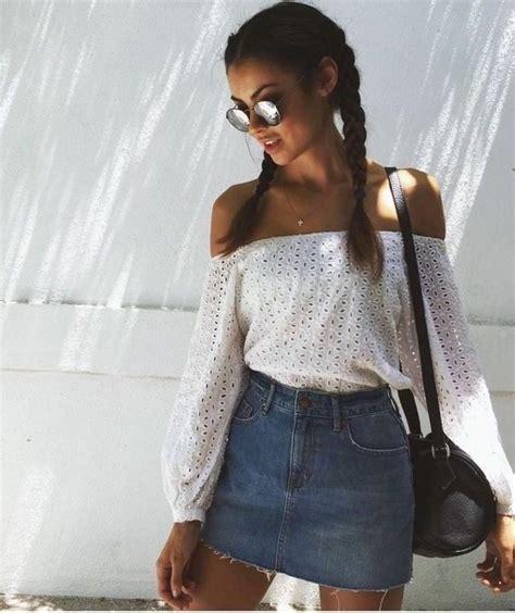 Best 20+ Denim skirt outfits ideas on Pinterest