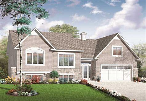 split level home plans split level multi level house plan 2136 sq ft home plan