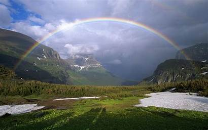 Rainbow Resolution Background Picturesque Wallpapers