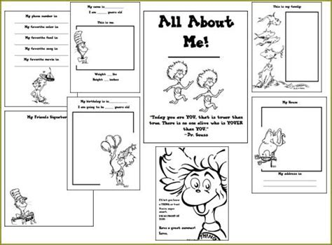the of teaching a kindergarten dr seuss all 627 | All%2BAbout%2BMe%2BExample