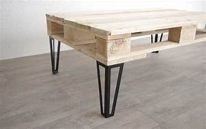 Pied De Table Basse Metal Industriel : pied type hairpin legs pour table basse 40cm ref ~ Teatrodelosmanantiales.com Idées de Décoration