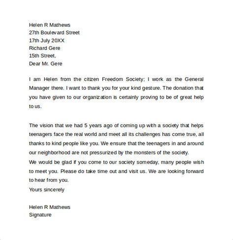 professional letter template 12 professional letters sles exles formats sle templates