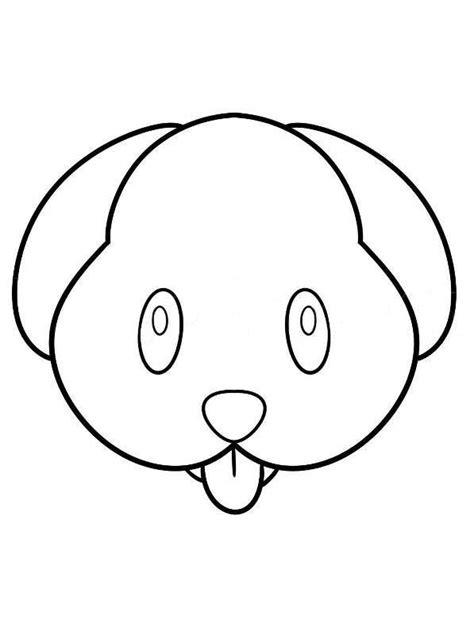 Kleurplaat Em Oji by N 25 Kleurplaten Emoji
