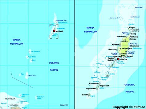 map  palau maps worl atlas palau map  maps