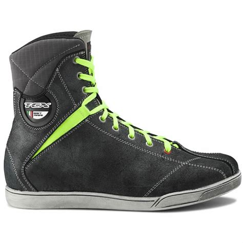 motorcycle riding sneakers tcx x rap mens lace up waterproof casual motorcycle riding