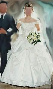 Robe De Mariée Romantique : robe de mari e pas cher romantique couleur ivoire ~ Nature-et-papiers.com Idées de Décoration