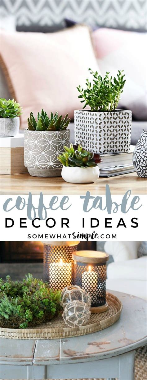 Enjoy the endless comfort and use it , chic living room decoration with wicker storage trunk coffee table. 5 Styling Tips and Coffee Table Decor Ideas | Somewhat Simple