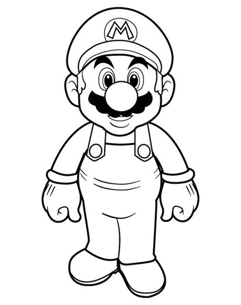 mario cartoon coloring pages  getcoloringscom  printable colorings pages  print  color