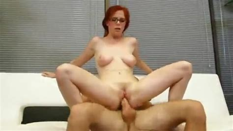Redheaded Milf Anal And Facial