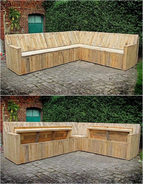innovative ideas  recycle  wood pallets pallet wood