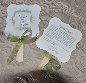 wedding favor fan rylee wiregrass weddings With fans as wedding favors
