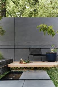 25 best ideas about concrete fence on modern