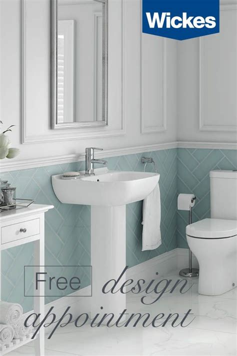 book   design appointment  wickes today   wide range  stunning bathrooms  choose     step   creat