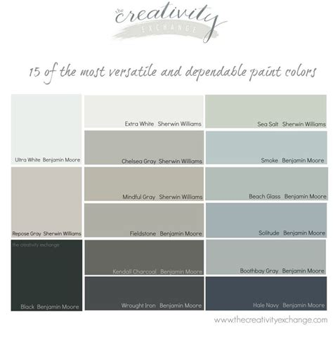 15 of the most versatile and dependable paint colors all list wall colors colors and