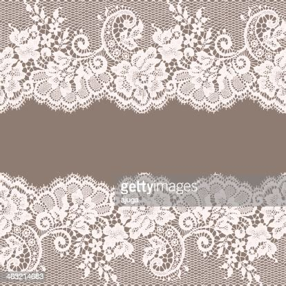 white lace greeting card gray background high res vector