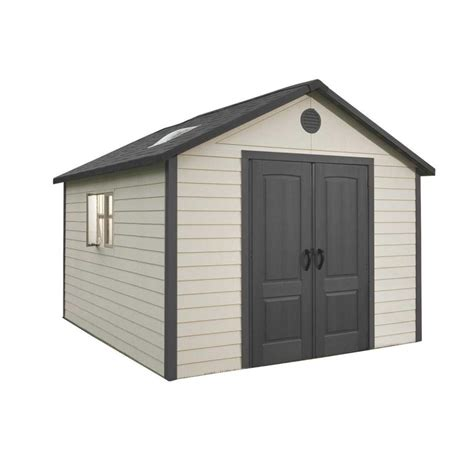 lifetime 15x8 shed uk shop lifetime products gable storage shed common 11 ft x