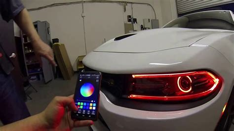 hellcat challenger 2015 dodge charger pack w rgbw led drl boards rgb
