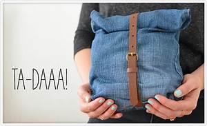 Nähen Aus Alten Jeans : 20 minuten zeit und lust aus einer alten jeans und einem alten g rtel eine super einfache mini ~ Frokenaadalensverden.com Haus und Dekorationen