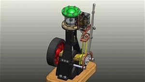 Steam Engine Vertical Reverse Gear
