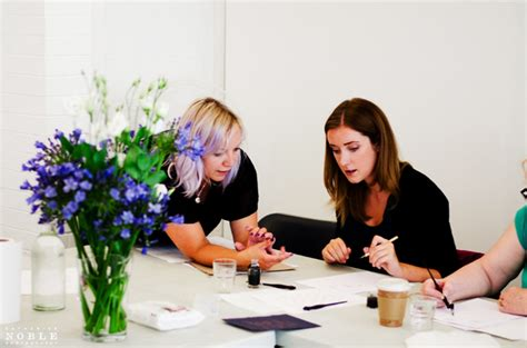 Are You Free On Saturday? Learn Modern Calligraphy With Me