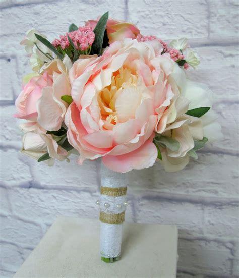 Peony Wedding Bouquet Bride In Bloom