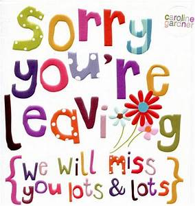 We Will Miss You Quotes. QuotesGram