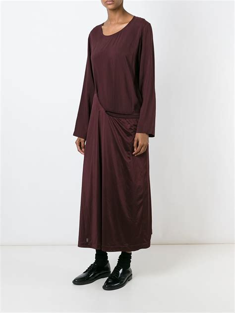 robe chambre comme des garçons 39 robe de chambre 39 dress in lyst