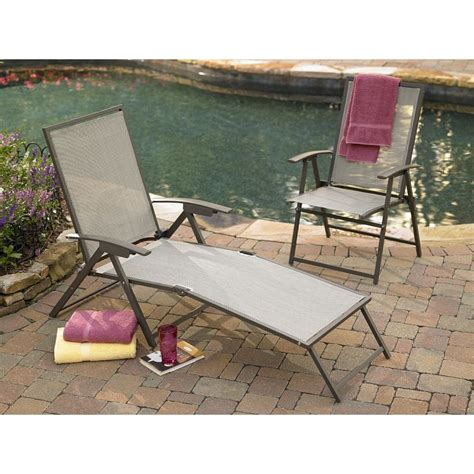 jaclyn smith today kensington sling chaise patio lounge