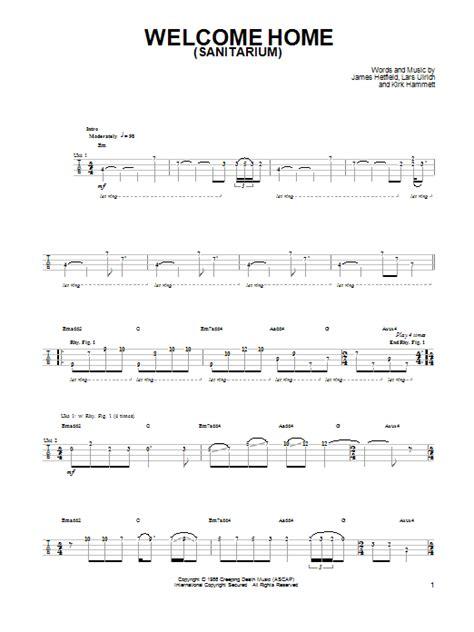 Welcome Home (sanitarium) By Metallica  Ukulele Guitar