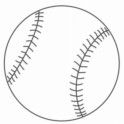 Baseball Printable Coloring Clipart Pages Clip Library