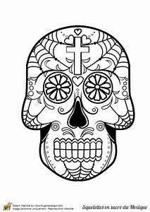 Crane Mexicain Dessin : coloriage cr ne en sucre mexicain toile d araign e ~ Melissatoandfro.com Idées de Décoration