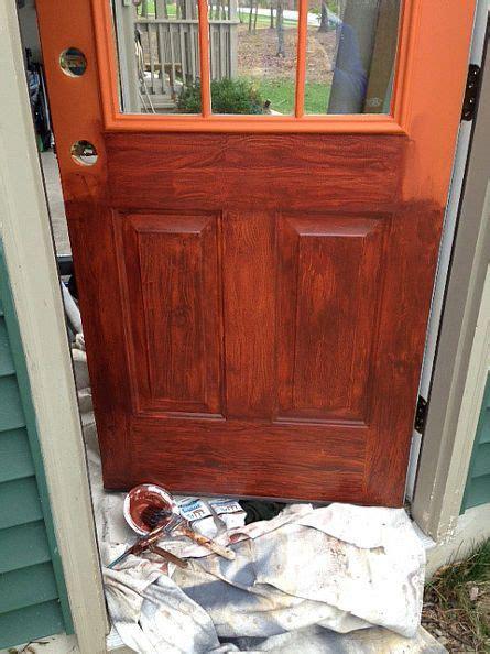 thrifty transformation   paint  door