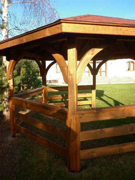 gazebo esagonale in legno gazebo esagonale arredo giardino esterno in legno