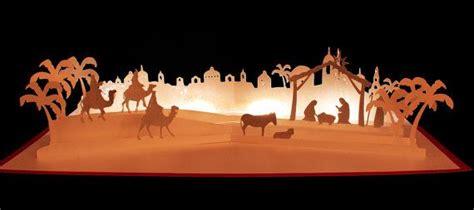 svg pop  layered card nativity scene nativity