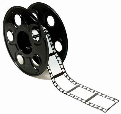 Reel Film Clipart Roll Clip Graphics Vector