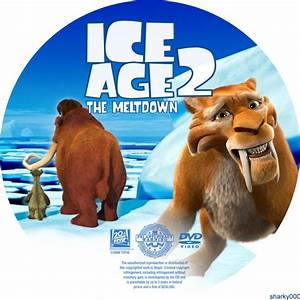 Ice Age 2 - The Meltdown - Custom DVD Labels ...