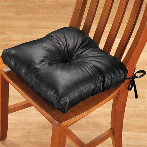 faux leather chair pad chair pad dining chair pad