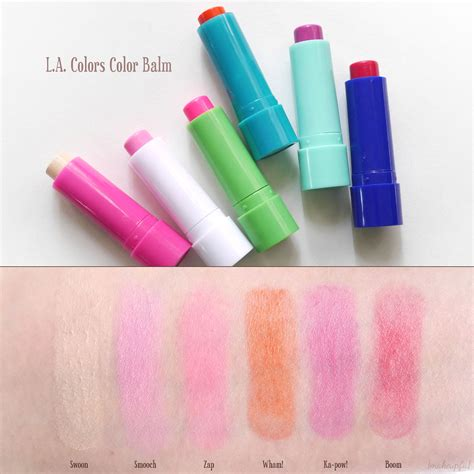 la colors review l a colors color balm review makeupfu
