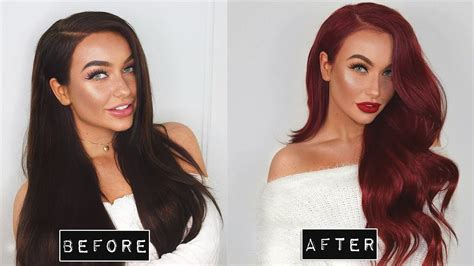 Go From Dark Brown To Red At Home (in 1 Day