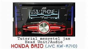 Setting Jam Audio Honda Brio Dan Mobilio  Jvc Kw