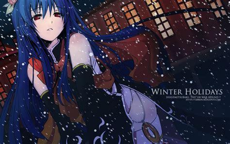 Anime Winter Wallpaper by Free Anime Wallpaper Desktop Background Wallpaper Wiki