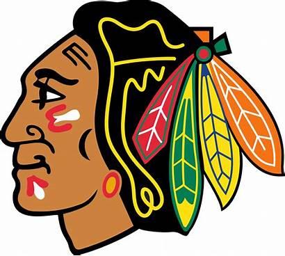 Blackhawks Chicago Logos Emblem
