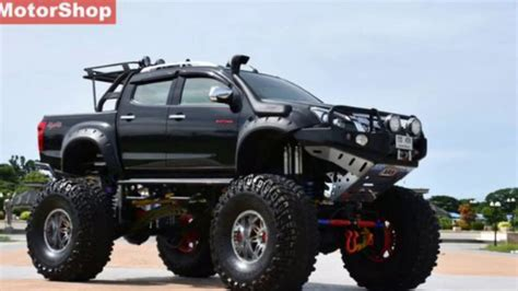 Isuzu D Max Modification by 10 Highly Modified Isuzu V Cross From India