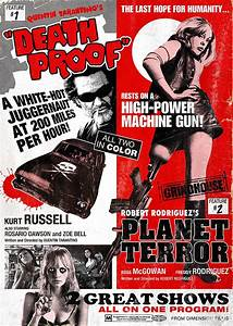 grindhouse poster from japan39s movie treasure magazine With grindhouse poster template