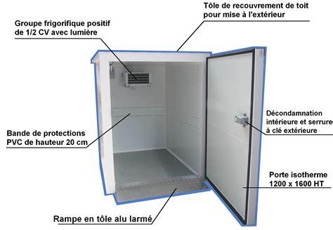 construire une chambre froide davaus comment fabriquer une chambre froide