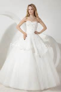 white gown wedding dresses white gown length sweetheart neckline cinderella wedding dresses with lace at