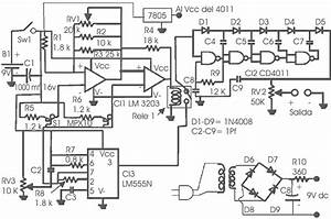 Diagrama Electr U00f3nico Del Estimulador