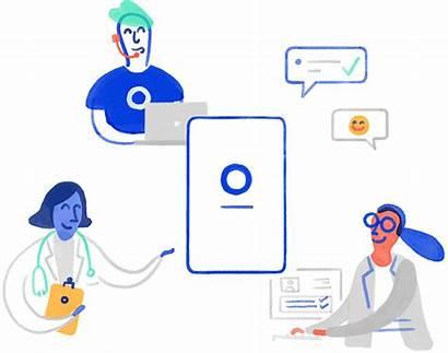 Insurance Oscar Health Clinic Illustration Cleveland Care