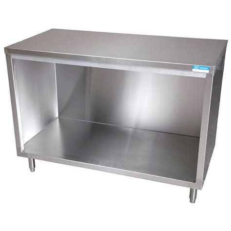 stainless steel kitchen storage cabinets bk resources stainless steel cabinet base work table 30 quot x